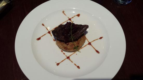 a room in the west end and Teuchters bar: Wood smoked pigeon