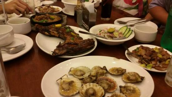 STK ta bai! at  Paolito's Seafood House: Panga and many more