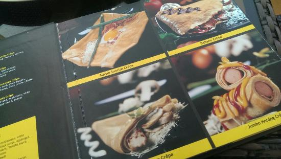 Crepe Cafe Menu Oman