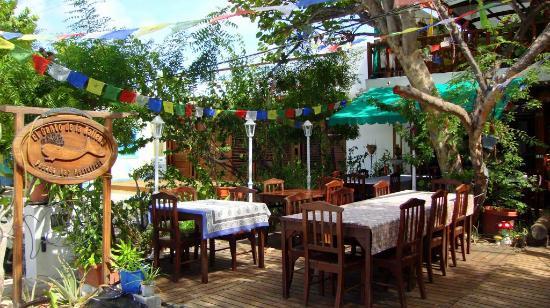 Posada El Canto de la Ballena: Vista do Restaurante.