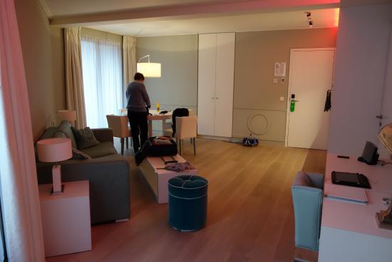 VixX Hotel: Zicht vanuit de slaapkamer