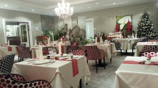 Hotel Bel Air Sport & Wellness: une des salle de restaurant