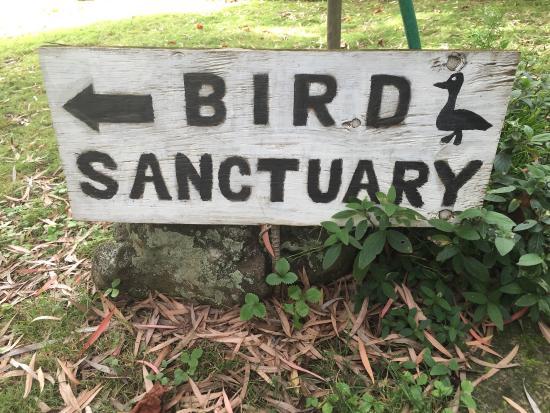 Kula Botanical Garden : Sign