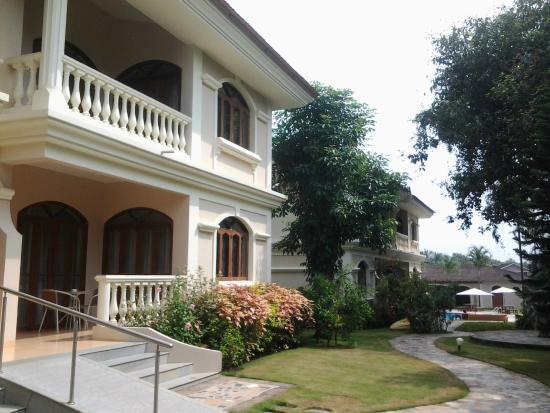 Hacienda De Goa Resort: Fachada do hotel