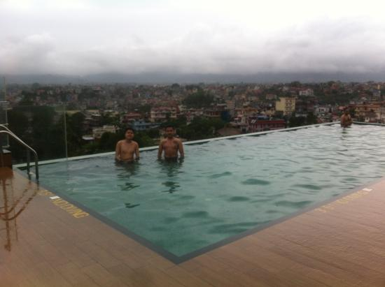 Infinity Swim Pool There Picture Of Hotel Shambala Kathmandu Tripadvisor