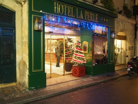 Hotel La Perle : noel