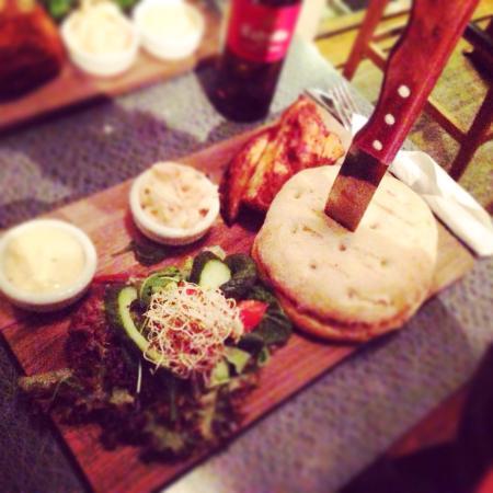 Muggens kok: Burger de luxe