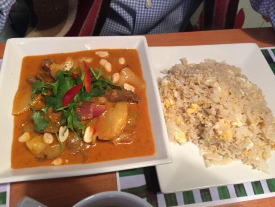 Yama's: Thai curry & fried Rice