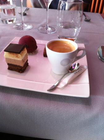 Hotel De La Vallee : Café gourmand