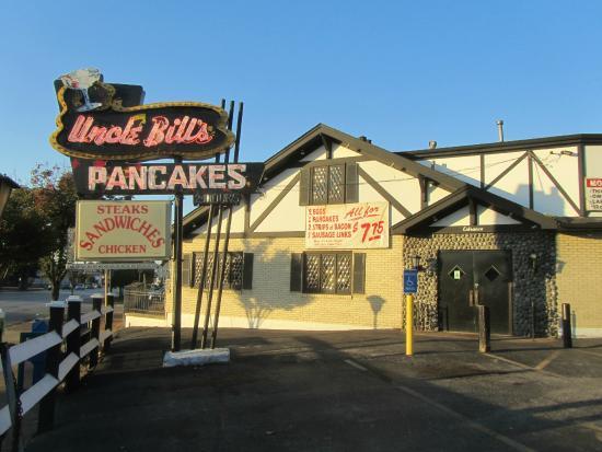 Uncle Bill's Pancake House: Uncle Bill's Entrance