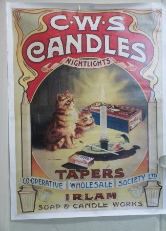 Museum of Lincolnshire Life: A poster in the Co-op shop