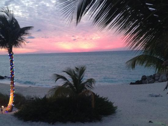 Bimini: Sunset from our room
