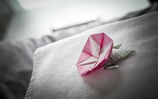 Andon Ryokan: Origami details