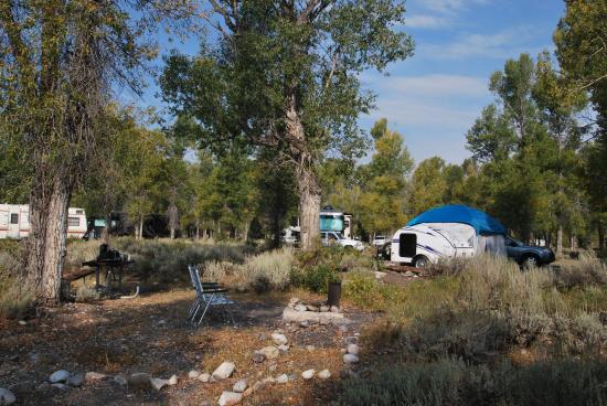 Gros Ventre Campground : Gros Ventre
