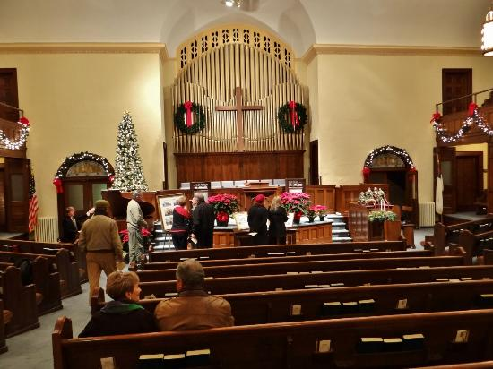 Edenton, NC: The scantuary for the Christmas Candlelight Tour