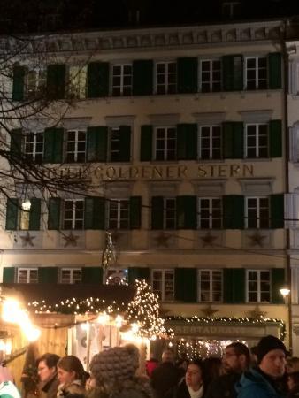 Hotel Stern Luzern: Stern from the Christmas market