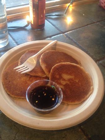 Simple Bliss Vegan Cafe: $9 pancakes....