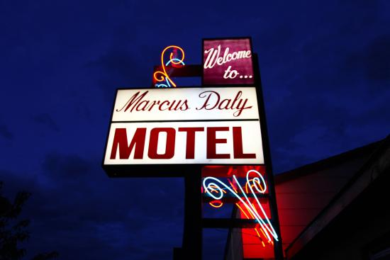 Marcus Daly Motel: Centrally located