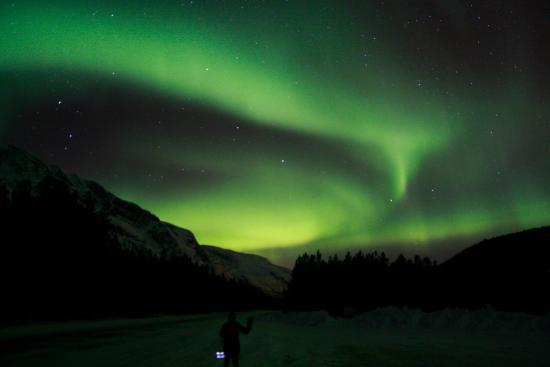 Tromso Fjords: Northern Lights