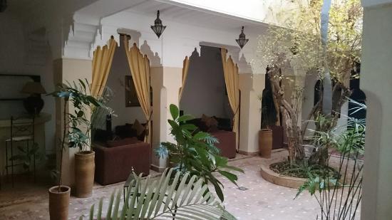 Riad Dar Foundouk: Intérieur