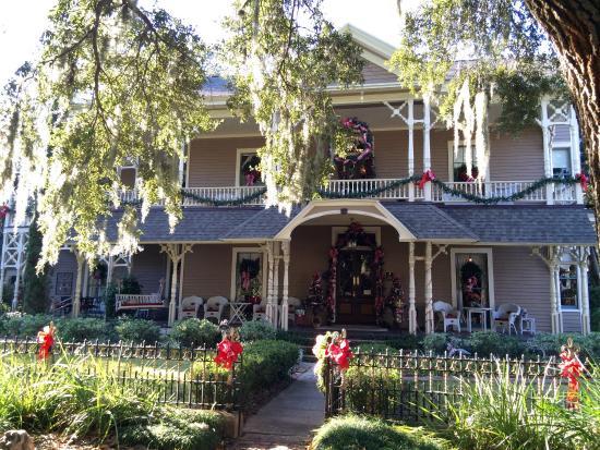Amelia Island Williams House: The outside of the main house
