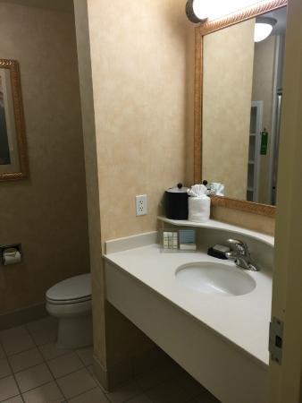 Hampton Inn Logan: Bathroom