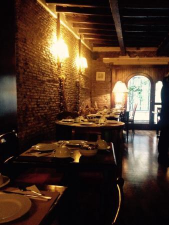 Antica Locanda: La sala colazione ... Favolosa