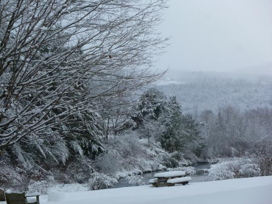 Winter Wonderland at Sun & Ski Inn and Suites