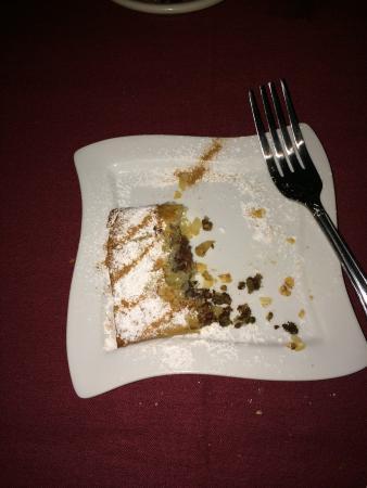 Imperial Fez: B'atella Filo Dough Stuffed w/ Cornish Hen, Crushed Roasted Almonds, Cinnamon, & Spiced Eggs