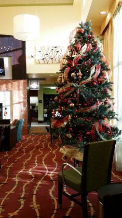 Hampton Inn & Suites Woodstock: Breakfast area