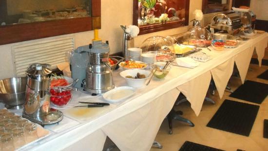 Hotel Savoia & Jolanda: Frühstücksbuffette