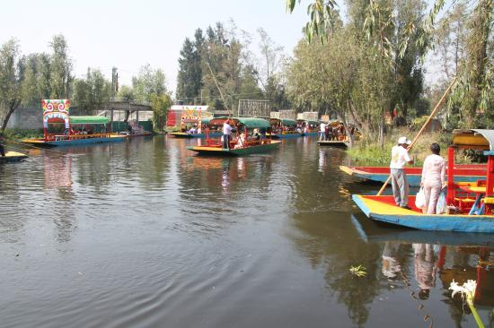 Imbarcazioni Tipiche Picture Of Floating Gardens Of Xochimilco Mexico City Tripadvisor
