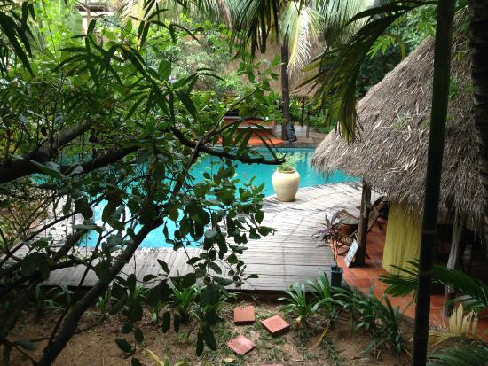Mysteres d'Angkor Siem Reap Lodge : Quaint pool