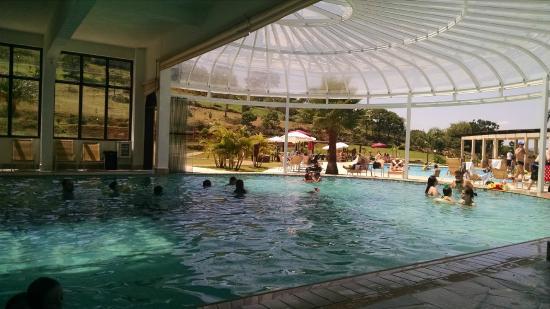 Piscina termal aberta para piscina externa - Picture of Villa di Mantova  Resort Hotel, Aguas de Lindoia - Tripadvisor