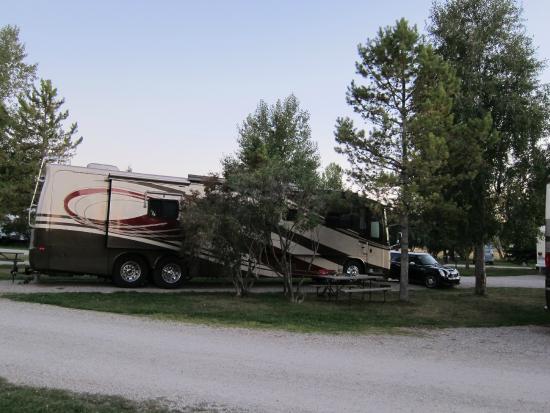 Teton Valley RV Park: Site 106