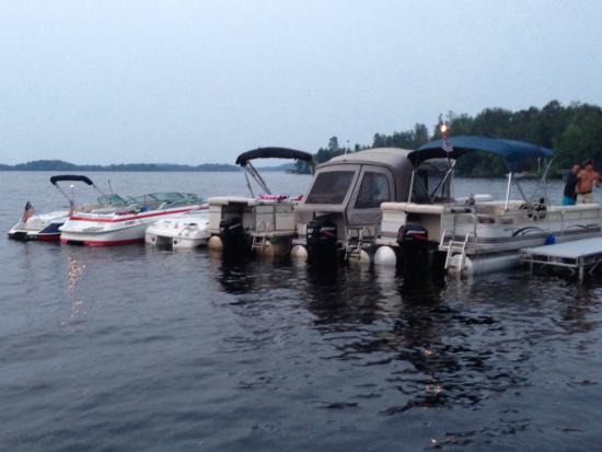 McGregor, MN: No more room at the dock, no problem!