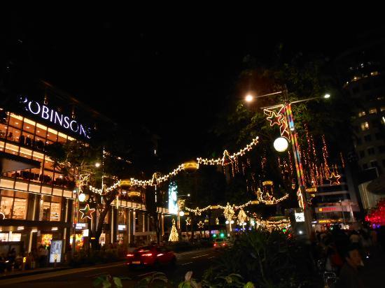 Christmas Lights at Orchard Road