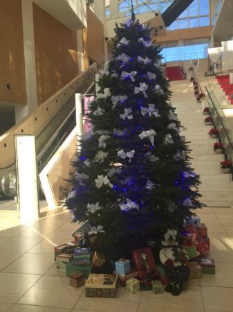 HOTEL Mielparque Nagano: Christmas tree!