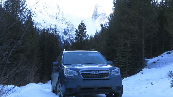 Bugaboos Provincial Park : Our intrepid Subaru Forester