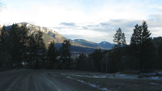 Parson, Canada: Back safely to the Columbia River Valley