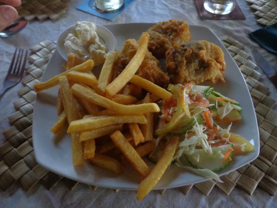 The Savaiian Hotel: Fish-N-Chips