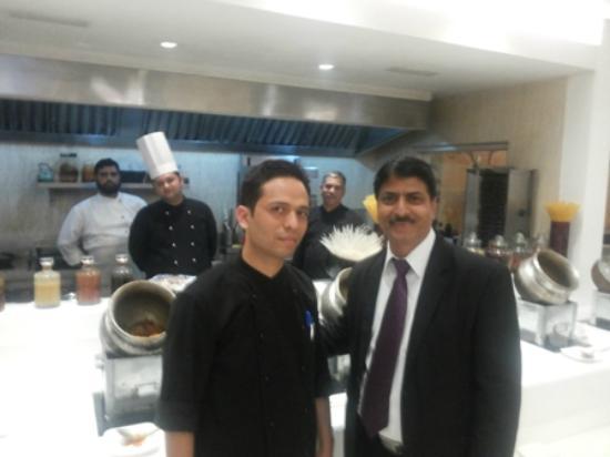 Clarens Hotel: Anil Raina, Chef Vipin, & Chefs