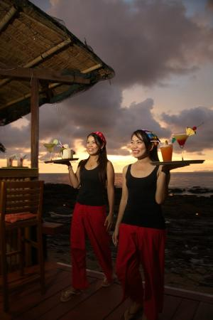 Crown Lanta Resort & Spa: Reggae Bar