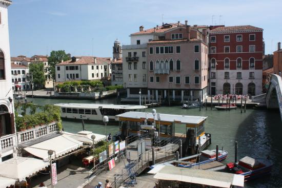 Abbazia Deluxe: Overlooking the canal