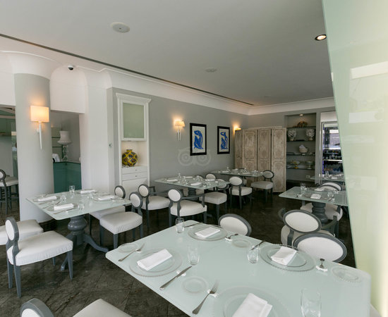 Restaurant at the Hotel Villa Athena