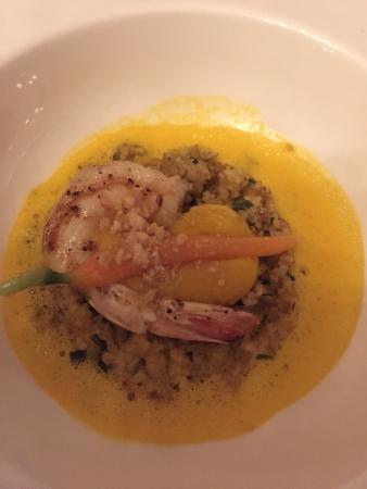 Speisemeisterei: Furchengarnele on couscous