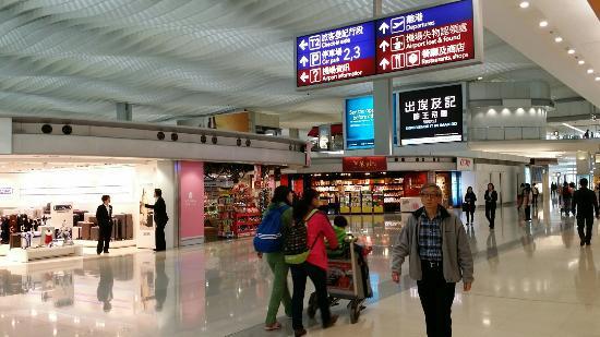 香港國際機場2號客運大樓購物區