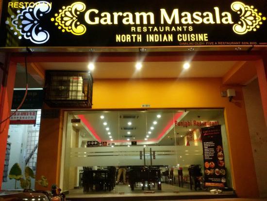 Garam Masala North Indian Restaurant Klang Selangor Malaysia