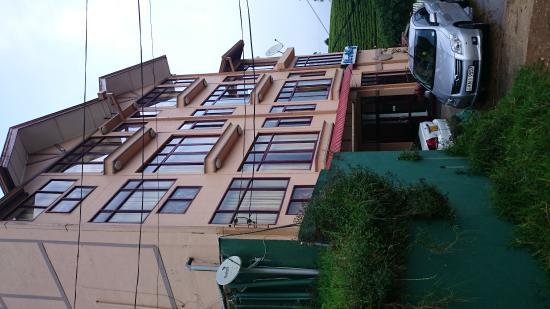 The leisure village Nuwara Eliya : View of hotel exterior