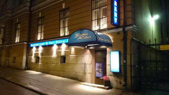 Brahen Kellari: Exterior of the restaurant.